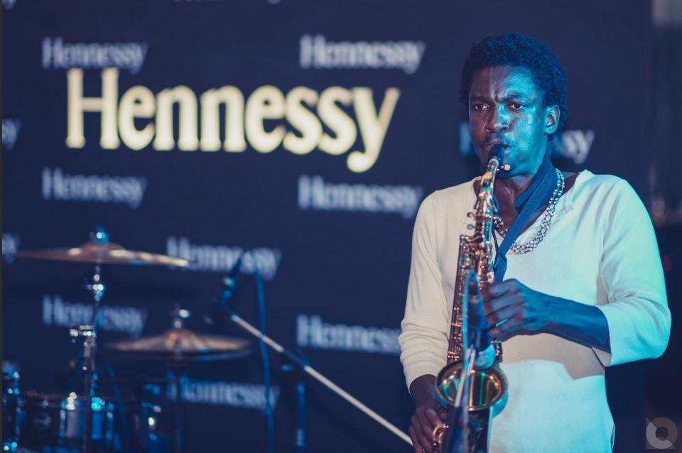 Saxaphone Player Brian Mugenyi